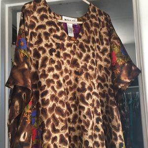 Dresses & Skirts - Cheetah nightie